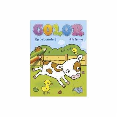 Kinderspeelgoed boerderij kleurboek