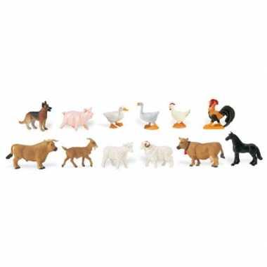 Plastic figuren boerderij dieren