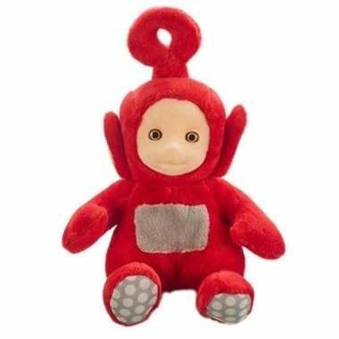 Rode teletubbies po speelgoed knuffel/pop inclusief geluid