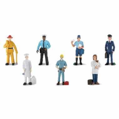 Speelgoed beroeps poppetjes plastic