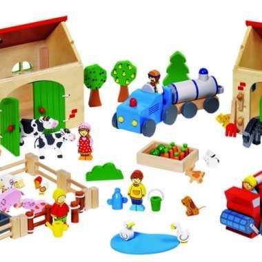 Speelgoed boerderij inclusief dieren