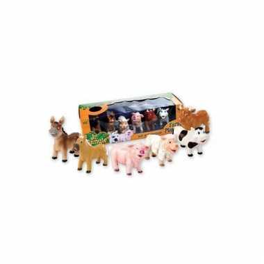 Speelgoed boerderij knijpdieren stuks