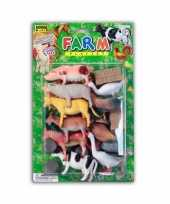 Speelgoed set boerderij stuks